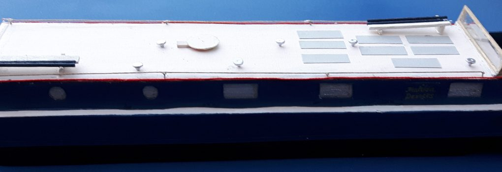 Model Port side no awnings