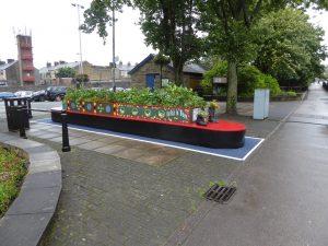 Barnoldwick flower bed