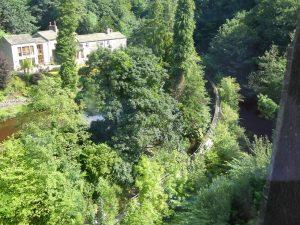 Springs canal walk Skipton castle